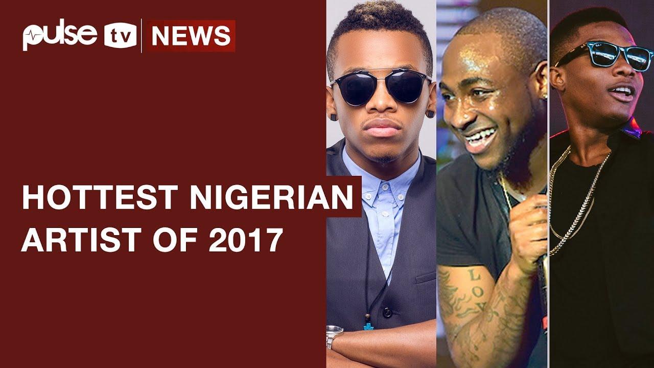 Davido Leads Top 5 Hottest Nigerian Artists of 2017 | Pulse TV News