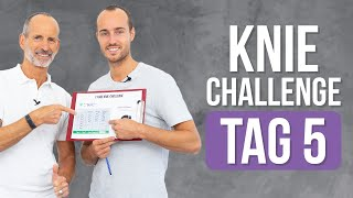 ❇️ Tag 5 ❇️ 7-Tage Knie-Challenge (Knieschmerzen, Übungen, Kniearthrose)