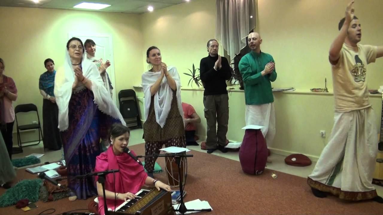 00022 RAMA NAVAMI RĀMAS TEMPLĪ RĪGĀ 15.04.2016-Рама Навами - день явления Господа Рамы