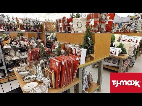 TJ MAXX CHRISTMAS 2018 (SO FAR) - CHRISTMAS SHOPPING DECORATIONS ORNAMENTS HOME DECOR