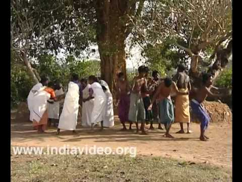 Tribal dance of Wayanad