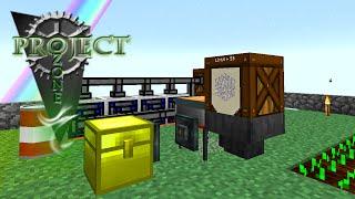 Minecraft Mods Project Ozone - AUTOMATIC SIEVE [E05] (Modded HQM Sky Block)