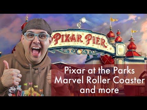 Disney Podcast - PIXAR AT THE PARKS, MARVEL ROLLER COASTER - Dizney Coast to Coast - Ep. 508