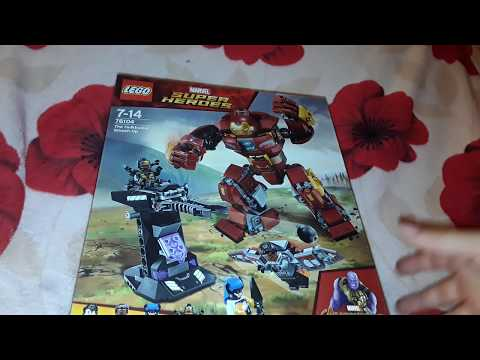 Lego review hulk buster