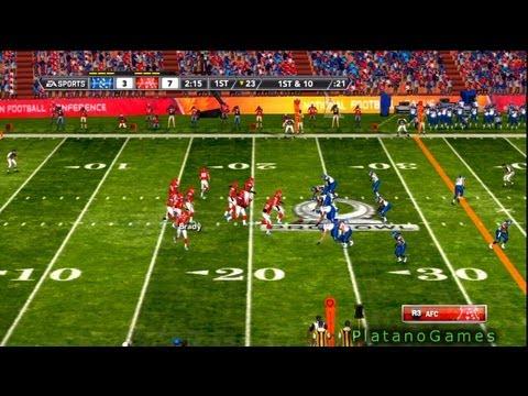 NFL Pro Bowl 2013 - AFC Conference vs NFC Conference - 3rd Qrt - Madden NFL - HD