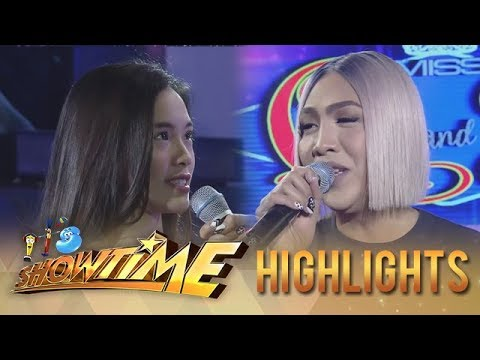 "It's Showtime Miss Q and A: ""Ate Girl"" Jackque says something that makes Vice nervous"