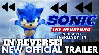 Sonic The Hedgehog (2020) - New Official Trailer in Reverse