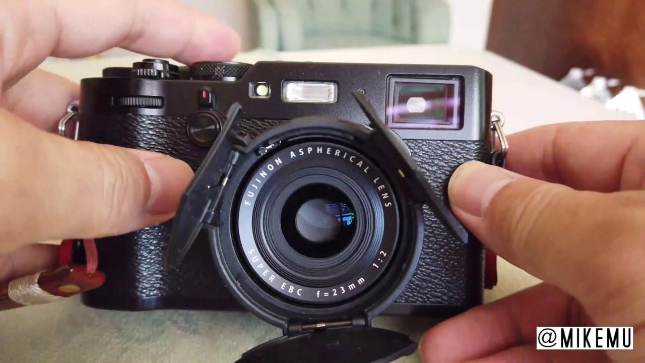 Auto Lens Cap for Fuji X100 Series Cameras