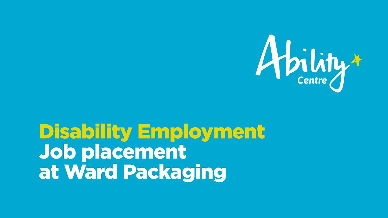 Employment Services Ability Centre Ndis Perth