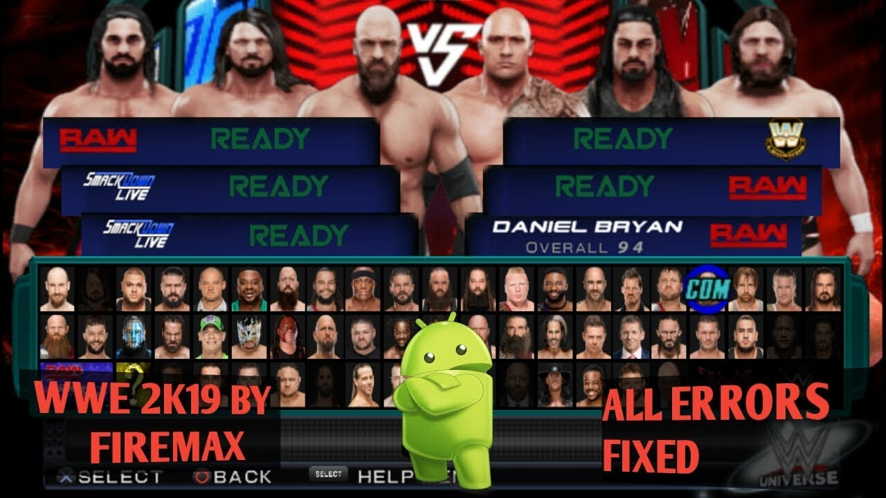 ||HOW TO DOWNLOAD WWE 2K19 LATEST MOD ISO BY FIREMAX||ALL ERRORS FIXED||BEST ISO. #1