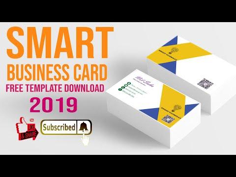 Business Card Design 2019 In Illustrator cs6 tutorial | Learn Illustrator | ভিজিটিং কার্ড ২০১৯ thumbnail