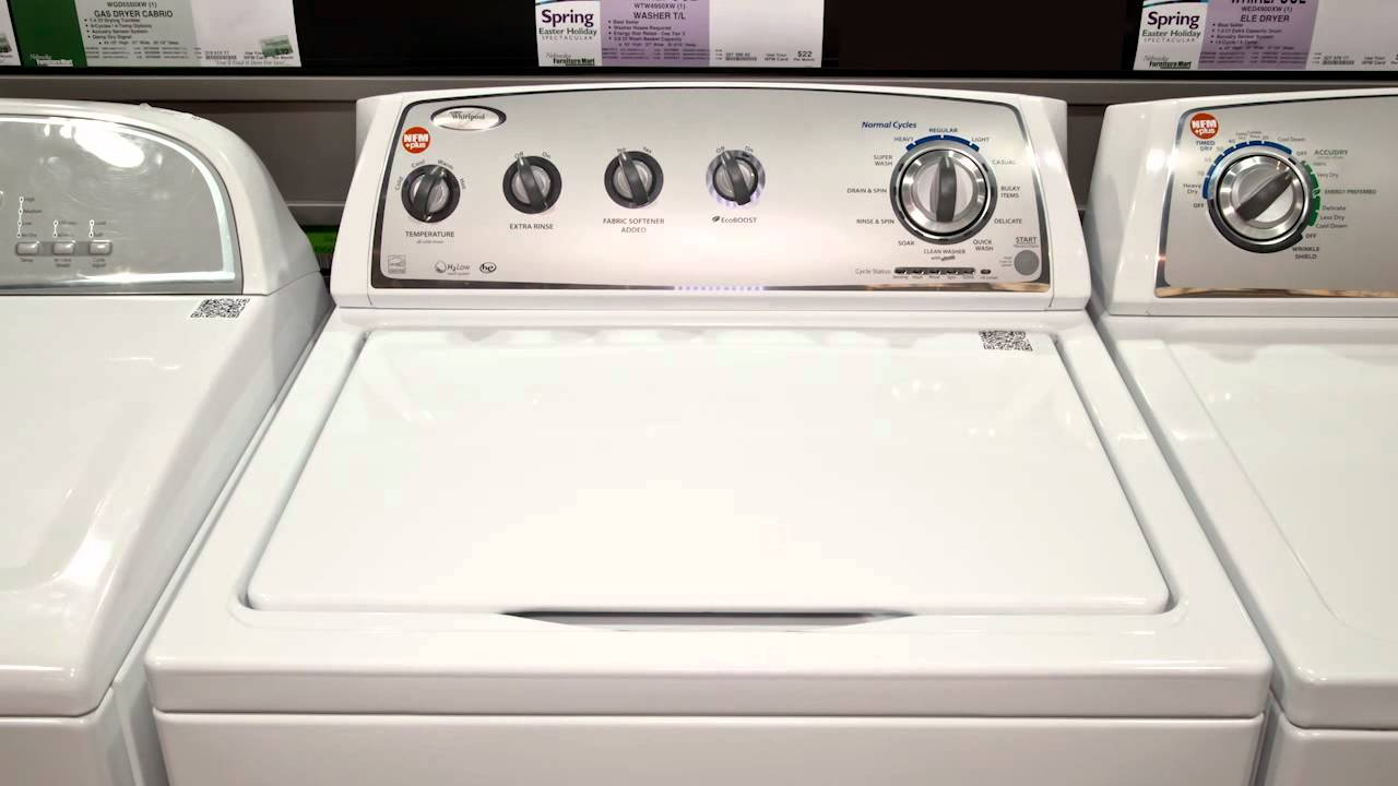maxresdefault whirlpool wtw4950xw top load washer youtube  at edmiracle.co