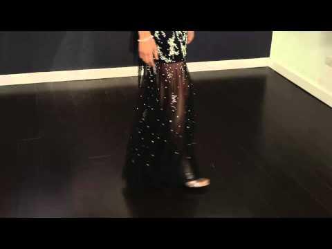Sheer Skirt Dress 88087   Jovani