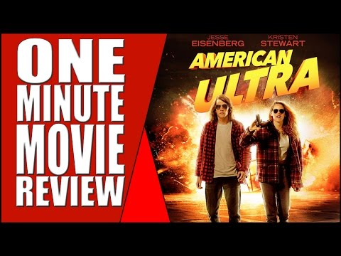 American Ultra - One Minute Full Movie Review