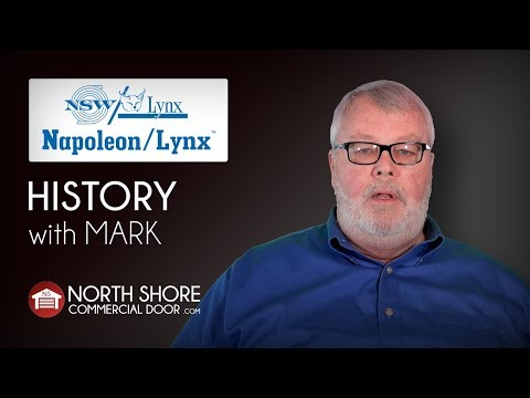 Napoleon Lynx With Mark By North Shore Commercial Door