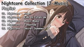 Nightcore Collection - Japanese Pop Songs [J-music] | Collection #22
