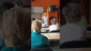 Presentation at Natural Grocers by Vitamin Cottage in Boulder Colorado 2017