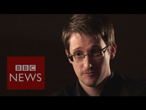 Edward Snowden: 'I know how to keep a secret' - BBC News