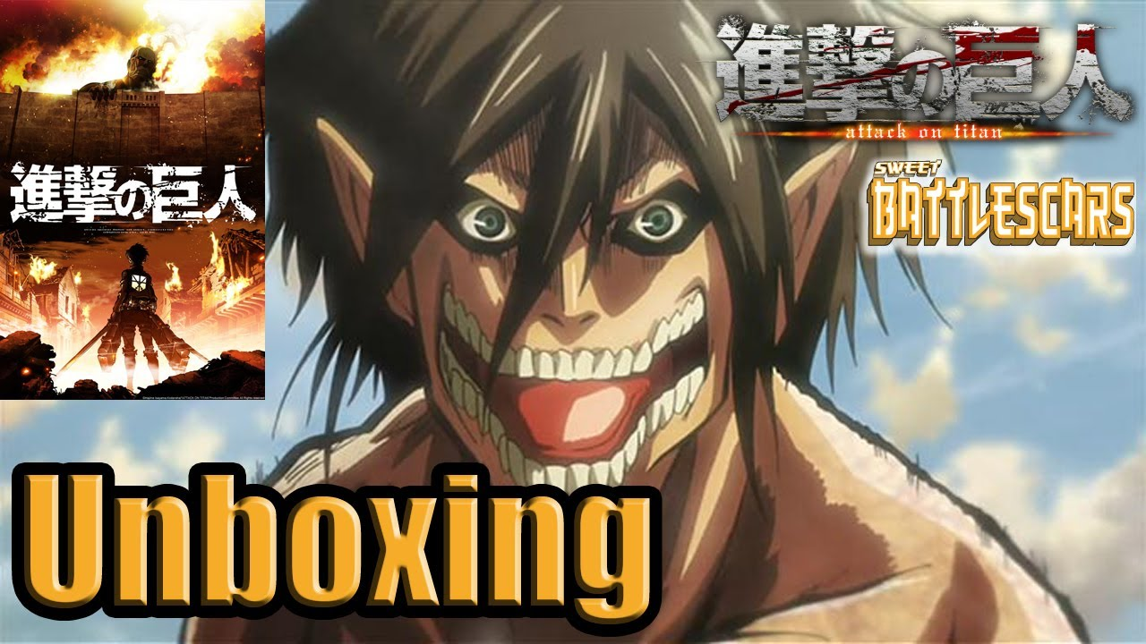 ATTACK ON TITAN BLU RAY SET - FUNIMATION EXCLUSIVE ...