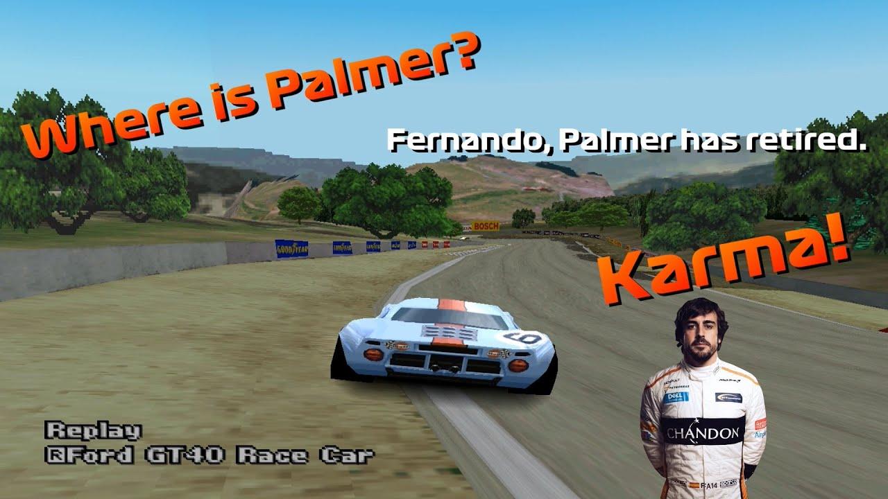If Formula 1 drivers played Gran Turismo 2...