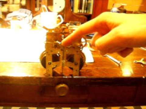 New Haven Clock Company Tambour No. 16 Movement