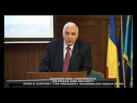 DIRECTOR OF EUROPEAN DIPLOMATIC ACADEMY-MIRCEA CONSTANTINESCU SPEECH FOR EURASIA CONFERENCE
