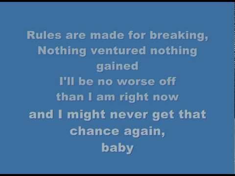 Westlife Lyrics Can´t Lose What You Never Had