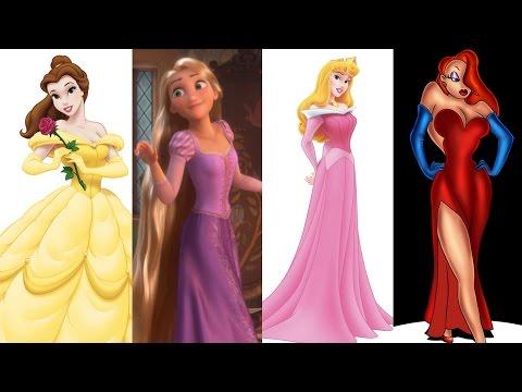 Top 7 Disney Princess In Real Life - YouTube
