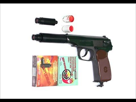 МР 654 стрельба перцем тюн бамов + сигнал охотника