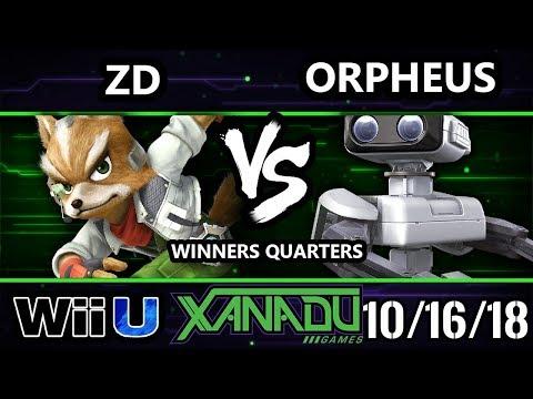 S@X 272 Smash 4 - Demise | ZD (Fox) Vs. Orpheus (Rob) - Wii U Winners Quarters