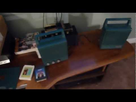 1969 Portofino by Belair portable 8-track stereo