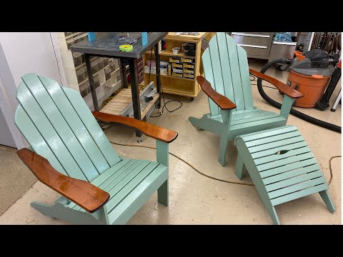 making-cedar-adirondack-chairs-&-footstools