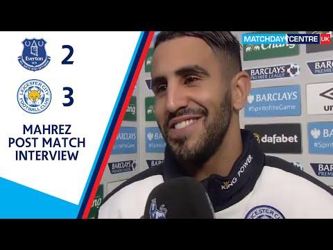 Everon 2-3 Leicester City : Riyad Mahrez Post Match Interview
