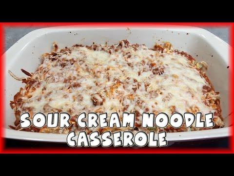 Sour Cream Noodle Casserole