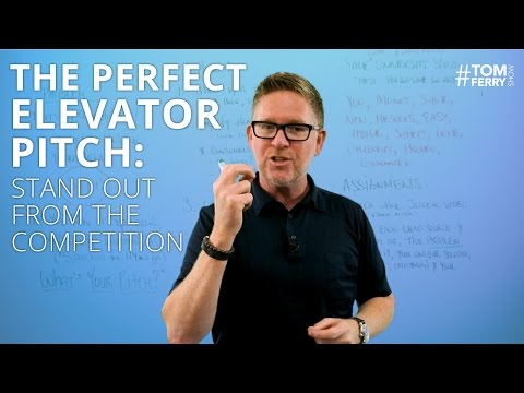 The Perfect Elevator Pitch: Stand Out from the Competition | #TomFerryShow Episode 116