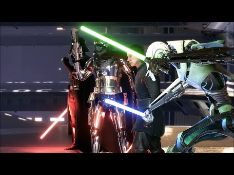 Star Wars Battlefront 2 Heroes Vs Villains 522 General Grievous Gameplay thumbnail