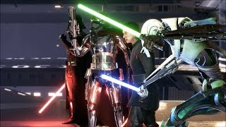 Star Wars Battlefront 2 Heroes Vs Villains 522 General Grievous Gameplay