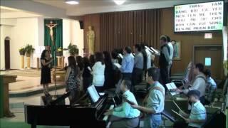 Bài ca dâng Mẹ  -  Kim Long