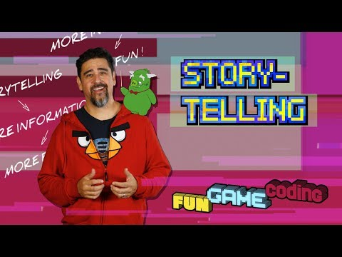 Angry Birds Fun Game Coding | Storytelling - S1 Ep2