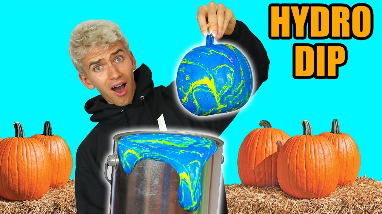 13221e44cbe9df HYDRO DIP PUMPKIN!! (GHOST WARNING) - YouTube