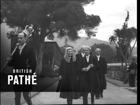 Opening Of Parliament In Cape Town (1948)