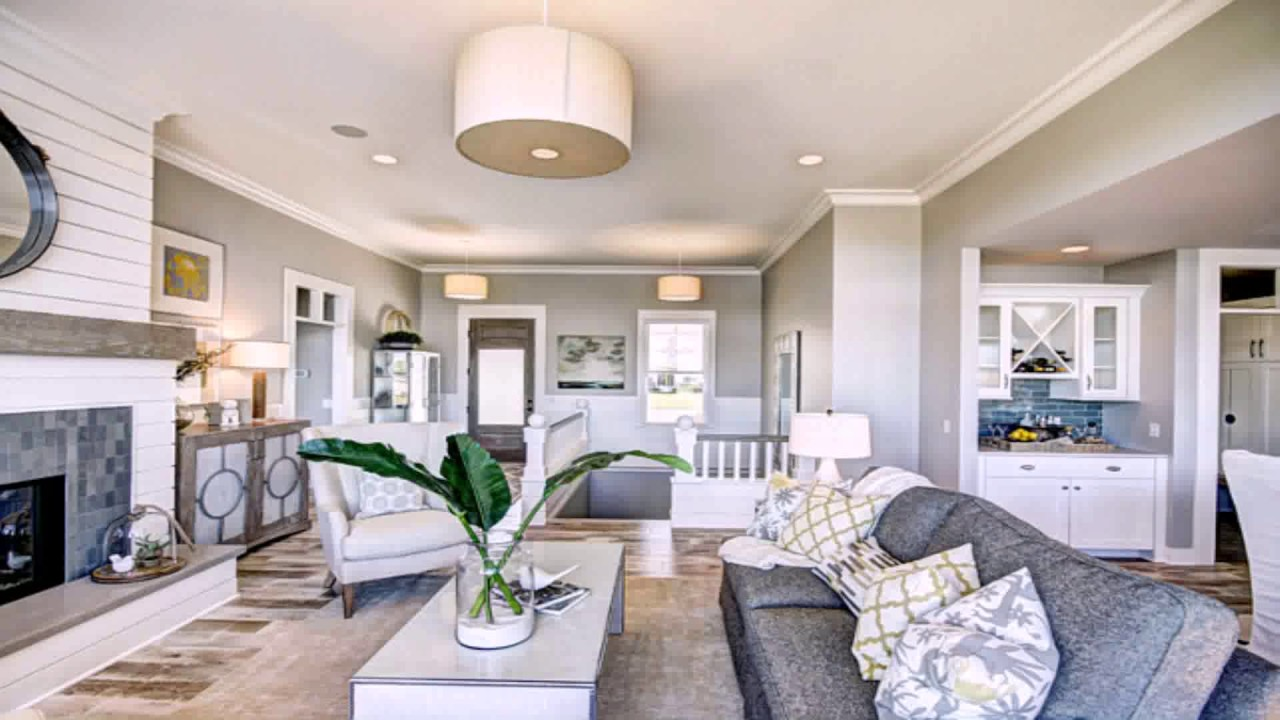 Beautiful Open Floor Plan Paint Ideas - YouTube NH74