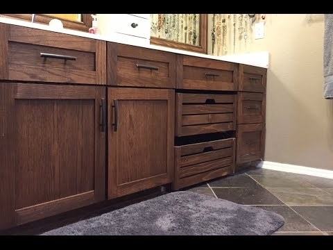 Build Shaker Style Doors - Refinish Vanity