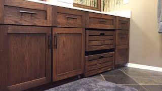 Build Shaker Style Doors - Refinish Vanity