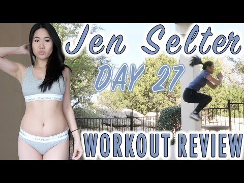 JEN SELTER BIKINI BODY CHALLENGE DAY 27 | My Fitness & Weight Loss Transformation | Fitplan