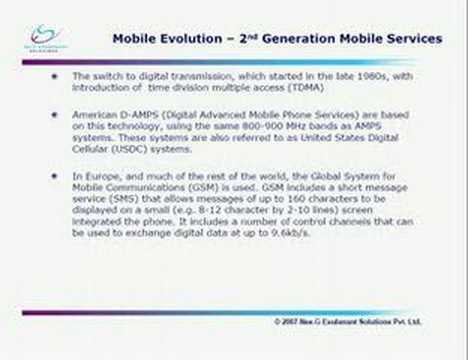 Introduction To Mobile Telephony