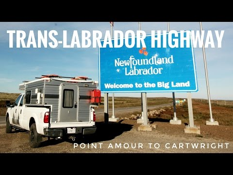 Trans-Labrador Highway: (Day 2/6) Red Bay to Cartwright.