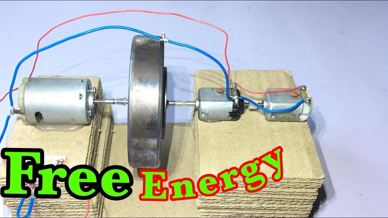 How to make free energy generator, a