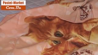 Постельное белье с котами FOR YOU