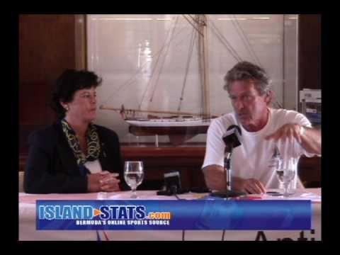 Les Crane talks Sinking Boat in Antigua Bermuda Race